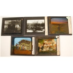 Montana, North & South Dakota Glass Slides (5)