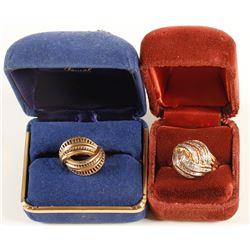 14 carat Gold Rings