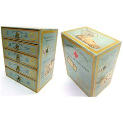 Allen's Corn Plasters Box, Johnson & Johnson