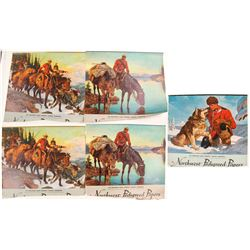 Canadian Mountie Wall Calendars (7)