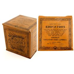 Dr. Johnson's Educator Cracker Tin