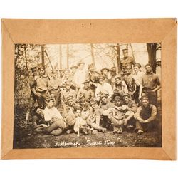 Early Photograph of Military Baseball Team