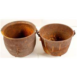Pioneer Cast Iron Cooking Pots