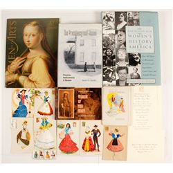 Postal Cards, & Encyclopedia of Women's History in America