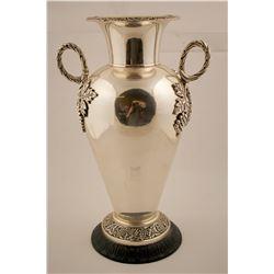 Silver Plate Vase