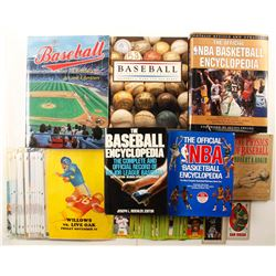 Sports Books, Ephemera, Baseball Cards, Hardback Books