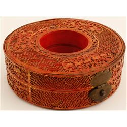 Carved Lacquer Box