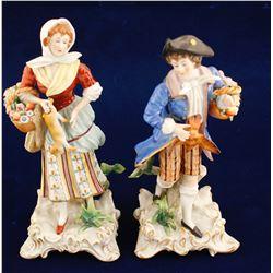 Dresden Sitzendorf Figurines
