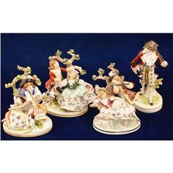 Sitzendorf Porcelain Figurines
