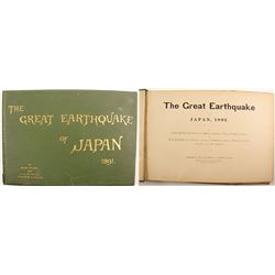 The Great earthquake of Japan 1891 by Milne