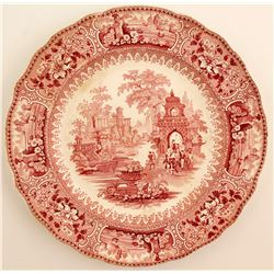 Early Staffordshire Decorative Plate