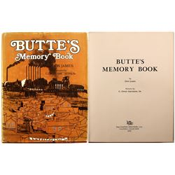 Butte's Memory Book by James
