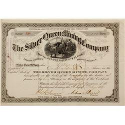 Silver Queen Mining Co. Stock