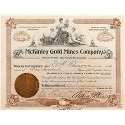 McKinley Gold Mines Stock
