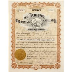 Tribune Gold Mining & Milling Stock