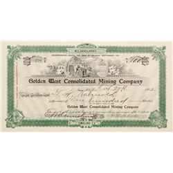 Golden West Consolidated Mining Stock