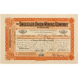 Smuggler Union Mining Stock