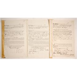 Mining Sale Documents, Manhattan Silver Mining Co.