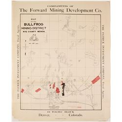 Map of the Bullfrog Mining District