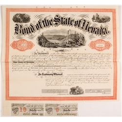 1865 Nevada Bond