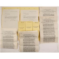 18 Documents on the transfer of Five Patents: c1913
