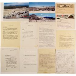 Correspondence Re: Goldfield Cons.and Bradshaw Inc. Tailings Lease Project
