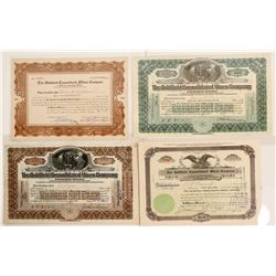 Goldfield Consolidated Mines Co. Stock Certificates, 1907-1920