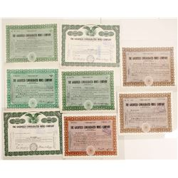 Goldfield Consolidated Mines Co. Stock Certificates, 1934-61