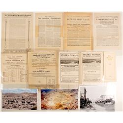 Goldfield Promotional Mining Ephemera Collection