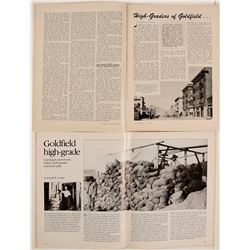 Magazines with Historical Articles about Goldfield