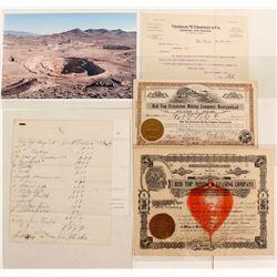 Red Top Mining Company Stock Certificates & Ephemera