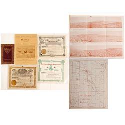 Rawhide Mining Stock Certificates & Ephemera