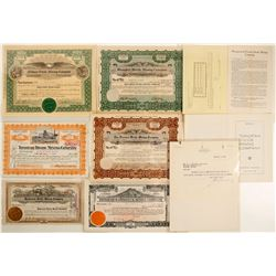 Divide / Gold Mountain Mining Stock Certificates & Ephemera