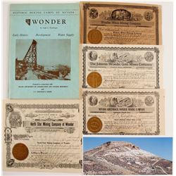 Wonder Mining District Stock Certificates & Ephemera