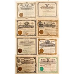 Nevada Exploration, Prospecting, & Core Drilling Stock Certificates