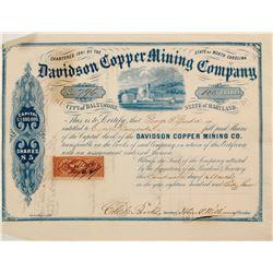 Davidson Copper Mining Stock