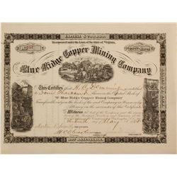 Blue Ridge Copper Mining Stock