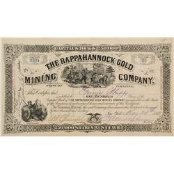 Rappahannock Gold Mining Stock