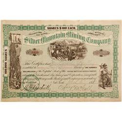 Silver Mountain Mining Stock