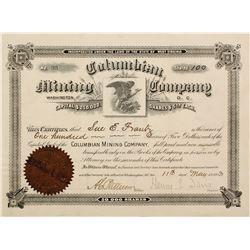 Columbian Mining Stock