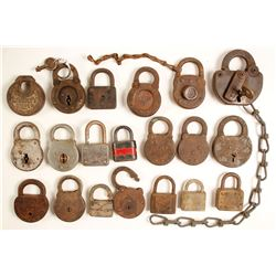 20 Antique Locks