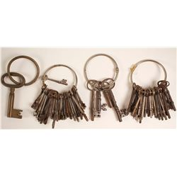 Group of Skeleton Keys