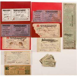US Railroad Ticket Grab-bag