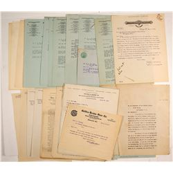 National One Cent Postage Correspondence