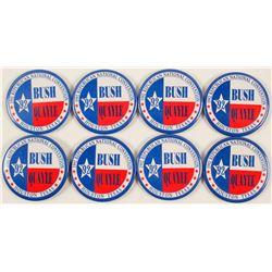 Bush/Quayle '92 Buttons