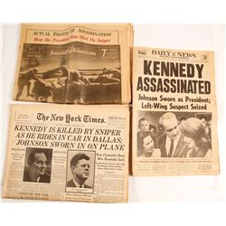 Newspapers from November 29, 1963 (Kennedy Assassination)
