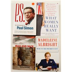 US Political Books with Autographs (4)