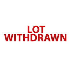 Lot Withdrawn same as 3379