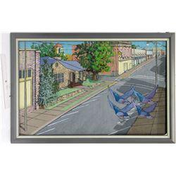 Street Scene by Martin