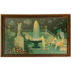 In the Style of Maxfield Parrish  Print